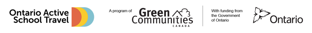 Ontario Active School Travel A program of Green Communities Canada