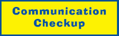 Communication Checkup