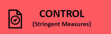 Red - Control (Stringent Measures)