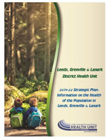 Information on the Health of the Population in Leeds, Grenville and Lanark Cover