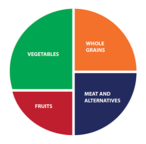 Create a Healthy Plate Infographic