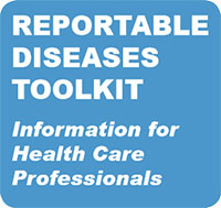 Reportable Disease Toolkit Badge