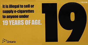 E-cigarettes Sticker (large)